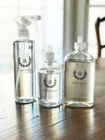 A Clear Simple Kitchen Bottles Set