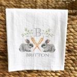 Easter Flour Sack Kitchen Towel