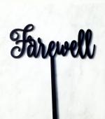 Farewell Cake Topper