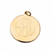 Martha Large Pendant -Gold