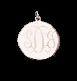 Martha Large Pendant -Silver