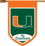 Personalized Miami House Flag