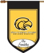 Personalized Southern Miss House Flag