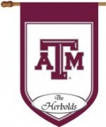 Personalized Texas A&M House Flag