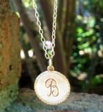 Southern Surcee -Frances Letter Pendant FREE with $100 purchase!