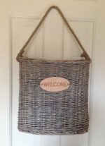 Door & Wall Basket -WELCOME