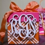 3-Letter 8-Inch Monogram FREE GIFT WITH $50 PURCHASE