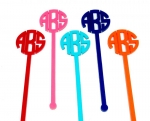 Buy One Get One FREE - Monogram Swizzle Sticks - Set of 6