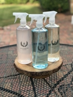 A Clear+Simple Cleaning Bottles Set