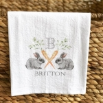 Easter Flour Sack Kitchen Towel