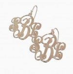 Mackenzie Script Earrings