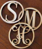 Mini Letters- Set of Three