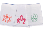 Monogram Flour Sack Tea Towel