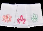 Monogram Flour Sack Tea Towel