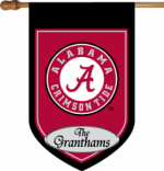 Personalized Alabama House Flag