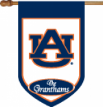 Personalized Auburn House Flag
