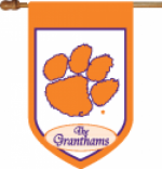 Personalized Clemson House Flag