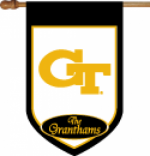 Personalized Georgia Tech House Flag