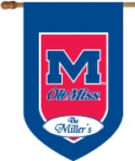Personalized Ole Miss House Flag