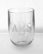 Premium Stemless Acrylic Wine Glasses