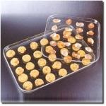 Rectangle Acrylic Snack Tray