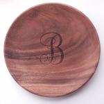 Round Wood Platter