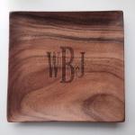 Square Wood Platter