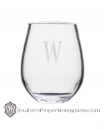Stemless Acrylic Wine Glasses