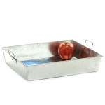 Galvanized Tin Rectangle Tray